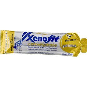 Xenofit Carbohydrate Hydro Gel Box 21x60ml Cola/Maracuja/Orange